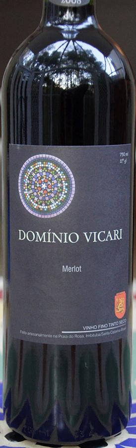 Dominio Vicari Merlot 2017